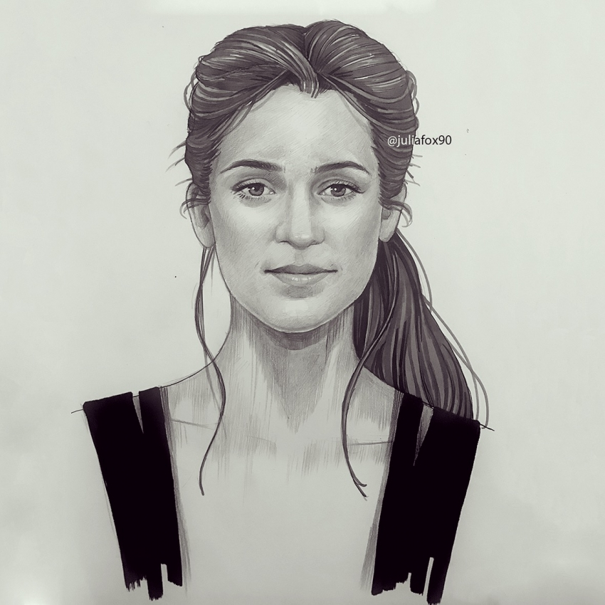 Alicia Vikander by JuJu